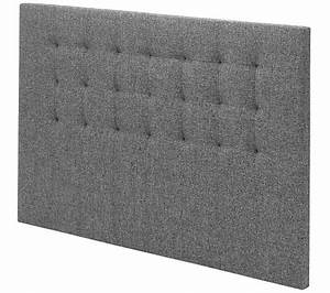 Tete De Lit Tissu : t te de lit tissu gris 170 cm signature charme t tes de ~ Premium-room.com Idées de Décoration