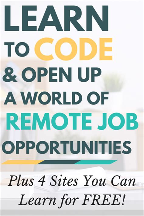 Learn To Code — And Open Up A World Of Remote Work