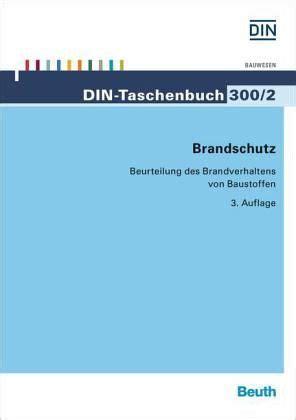 Baustoffklassen Beurteilung Des Brandverhaltens by Brandschutz Fachbuch Buecher De