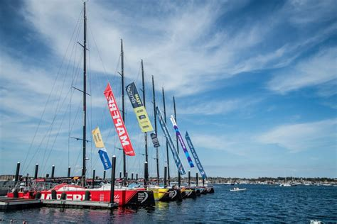 newport welcomes  volvo ocean race  england living