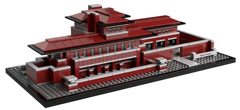 Lego Gossip 140711 Lego 21010 Robie House Picture