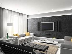 Room design modern living designs with grey
