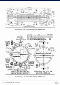 14 Engineering Drawing Heat Exchanger For Free Download On
