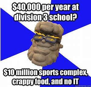$40,000 per year at division 3 school? $10 million sports ...