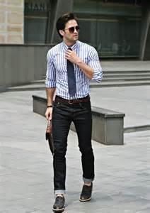 Black Men Casual Jeans Outfit