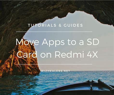 move apps   sd card  redmi  wizhealersnet