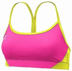 Neon Pink Sports Bra Breeze Clothing
