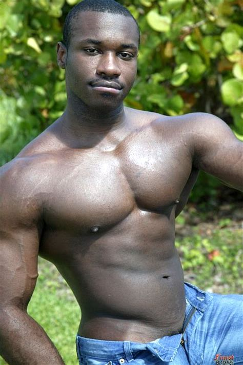 Marc Williams Black Muscle Stud Packin 10 Best Of Gay Muscle