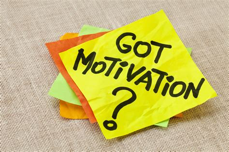 Learning The Psychology Of Self-motivation