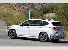 2019 BMW X1 LCI Spied HotWeather Testing In Europe