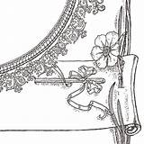 Decorative Frame Borders Pen Clipart Quill Feather Clip Marketing sketch template