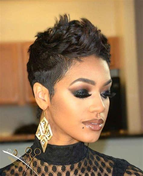 20 best of african american ladies short haircuts