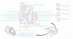 Subaru Brz Relay  Fuse  Box  Electrical