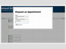 HTML5 Doctor Appointment Scheduling JavaScriptPHPMySQL