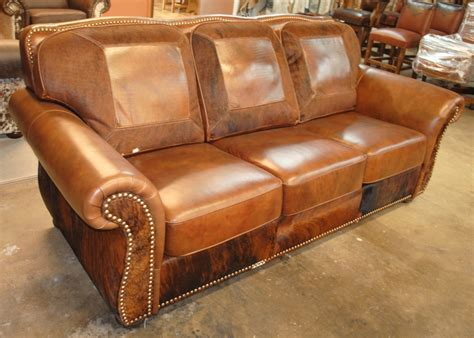 Cheyenne Leather Sofa  Rick's Home Store