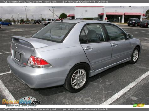 silver mitsubishi lancer black 2005 mitsubishi lancer oz rally cool silver metallic