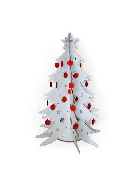 christmas tree out of cardboard white cardboard christmas tree 7510