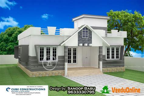 Home Design Ideas In Low Cost by Kerala Home Designs 5 Lakh Studio Design Gallery