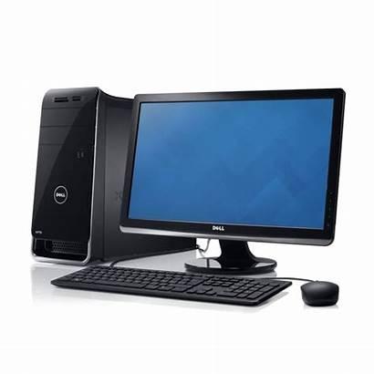Desktop Computer Transparent Dell Komputer Xps I7