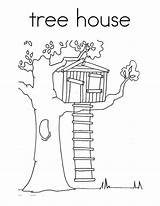 Tree Treehouse Coloring Magic Clipart Drawing Pages Houses Colouring Treehouses Drawings Books Luna Colorluna Sheets Library Adult Clipground Quilt Getdrawings sketch template