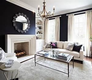 Inspiration 7 ways to update your living room in 2016 for Inspiration ideas for black and white rug