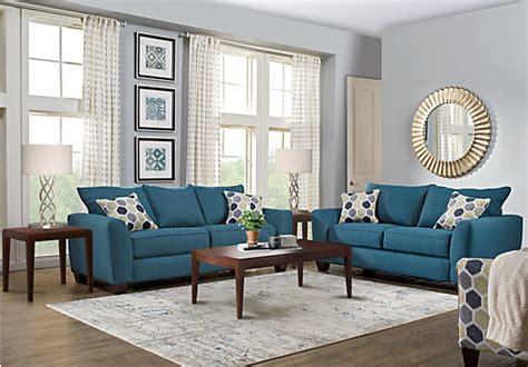 bonita springs  pc blue living room classic