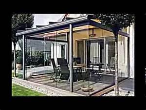 überdachte Terrasse Holz : ideen f r terrassenverglasung 20 inspirierende verglaste terrassen youtube ~ Whattoseeinmadrid.com Haus und Dekorationen
