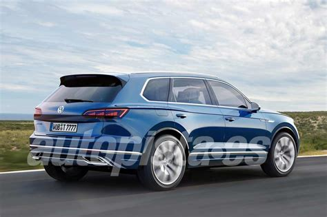 New Touareg 2018 by Volkswagen Touareg 2018 Data And Images Of The New