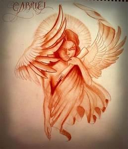 Gabriel The Archangel Tattoo | www.imgkid.com - The Image ...