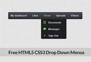 html5 css3 demo download garagedagor With drop down menu template html