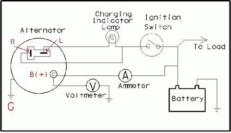 One Wire Alternator Wiring Diagram