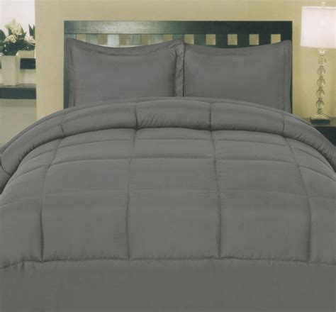 colored goose comforters sweet home collection white goose alternative