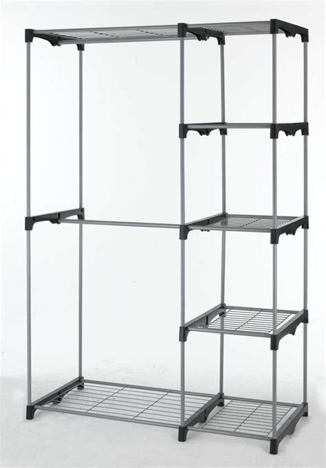 Closet Organizer Racks by Closet Organizer Storage Rack Portable Clothes Hanger Home