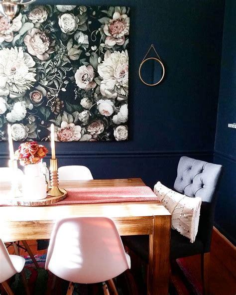 benjamin moore hale navy dining room walls interiors