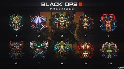call  duty black ops  prestige emblems
