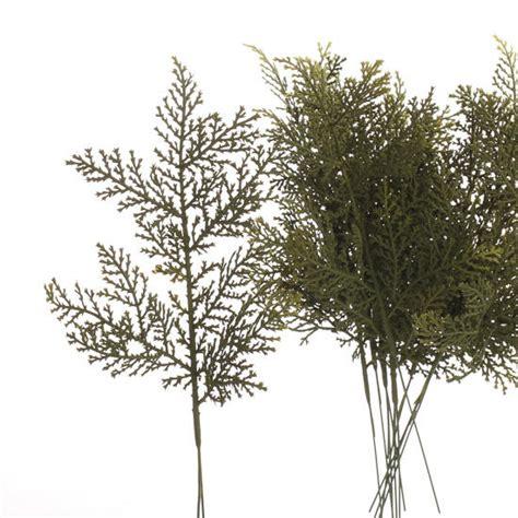 artificial cedar picks artificial greenery floral