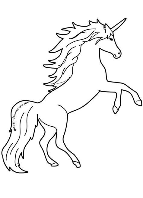 disegni da colorare e da stare per bambini disegno da colorare unicorno disegni mammafelice con