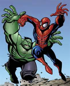 Classic Spider-Man vs Hulk