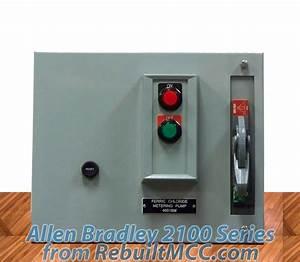 Allen Bradley 2100 Series Motor Control Centers  Mccs  New