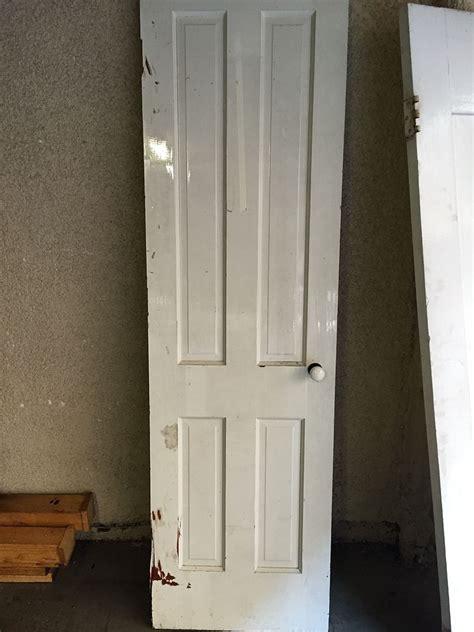 hometalk repurposed mid century closet door to