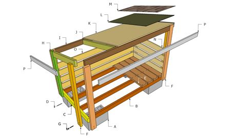 wood shed plans    build diy