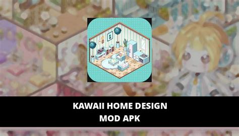 kawaii home design mod apk unlimited gems