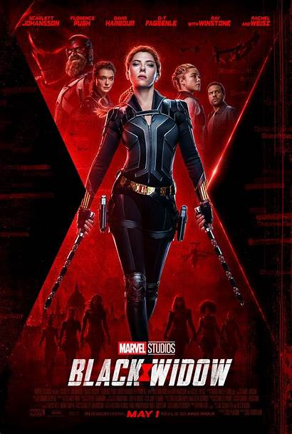 Widow Poster Marvel Movie Official Collider Affair