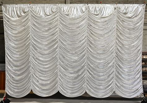 austrian drape silver austrian puff drapes and curtains grosh