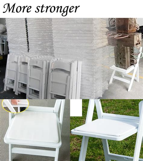 american folding resin chair type used in wedding party jc