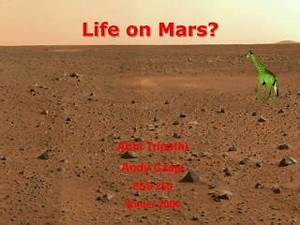 PPT - Life on Mars? PowerPoint Presentation - ID:4610941