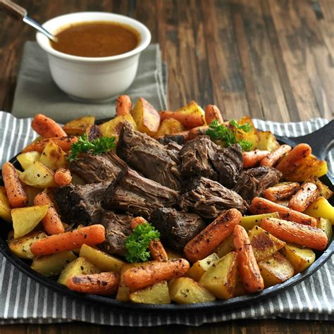 how to cook a pot roast on the stove perfect pot roast with pot roast gravy simply sated