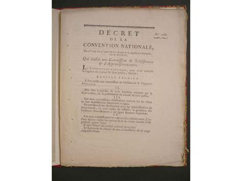 bureau du cadastre decrets decret de la convention nationale du 15 août