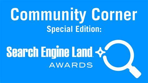 Community Corner Spotlight On Search Engine Land Award