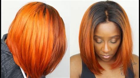 How To Get Orange Hair Easily Dye Black Hair To Orange